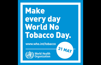 Protecting youth from industry manipulation and preventing them from tobacco and nicotine use:World No Tobacco Day 31st May 2020
