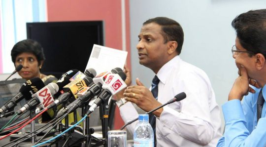 Coverage for the media conference on National TV Channels