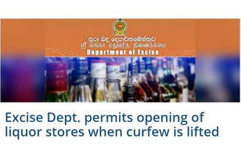 Harmful effects of the decision taken to permit the liquor stores to reopen when the curfew is lifted on 20 April during the COVID-19 pandemic [Post updated on 21 April 2020]