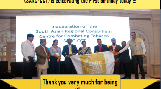 It's the first birthday of SARC-CCT!!!
