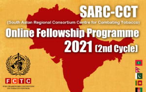 SARC-CCT Online Fellowship Programme 2021 Initiated